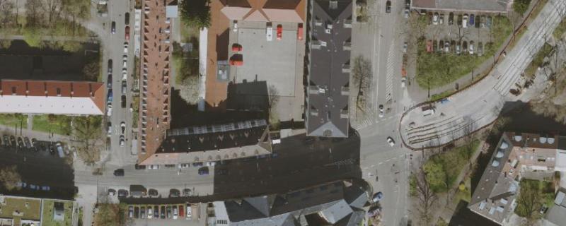 Luftbild, Stadt Karlsruhe, Liegenschaftsamt