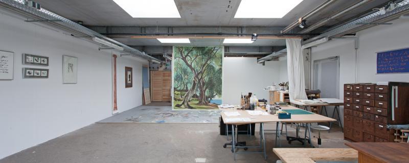 Alter Schlachthof 13 Atelierhaus. Bildrecht: Fidelis Fuchs