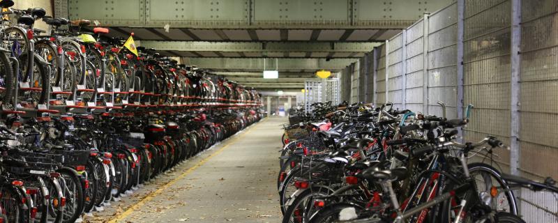 Fahrradstation am Hauptbahnhof